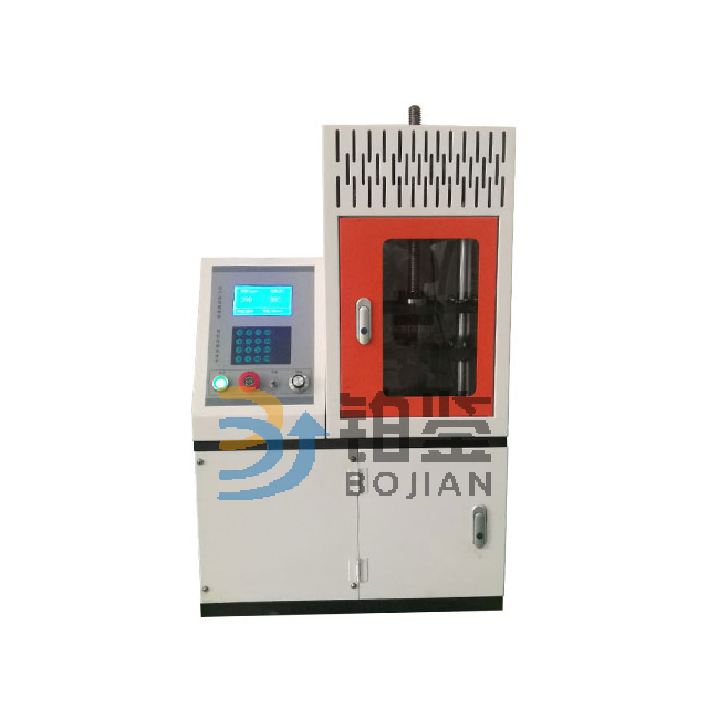 Mechanical spring tension fatigue testing machine