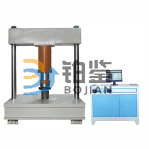 BJJY-W1000KN microcomputer controlled electrohydraulic servo manhole cover pressure testing machine