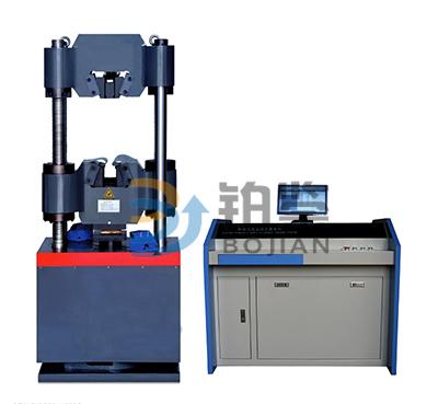 B型机微机控制电液伺服液压万能试验机