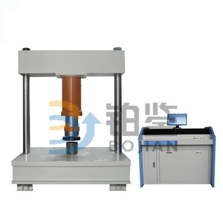 600KN微机控制电液伺服井盖压力试验机