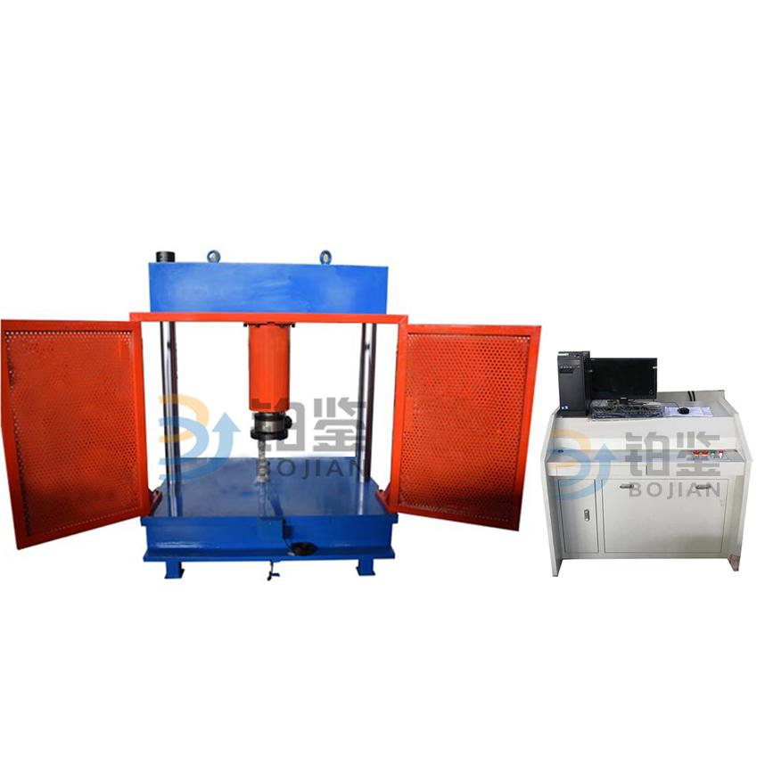 1000KN微机控制电液伺服井盖压力试验机