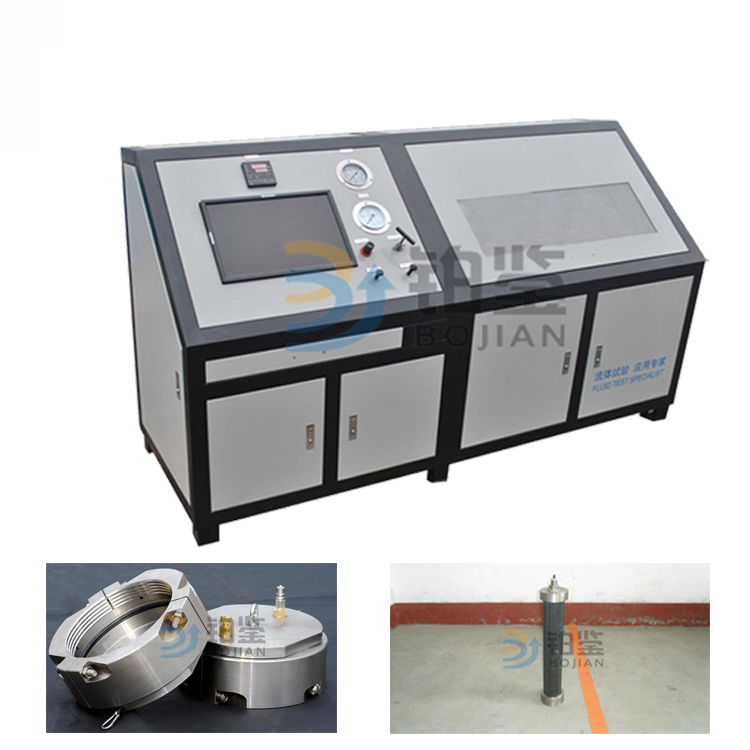 微机控制管材静液压爆破试验机