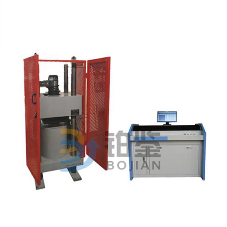 微机控制电液伺服金属管压扁试验机
