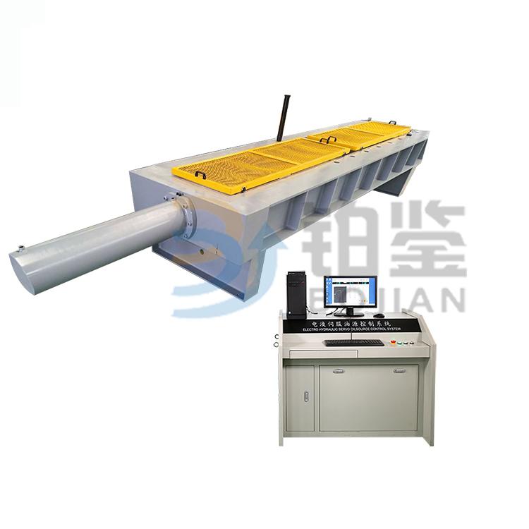 光纤电缆卧式拉力试验机