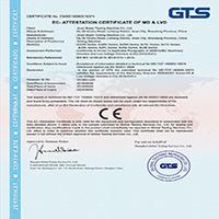 铂鉴试验机厂家获得CE认证