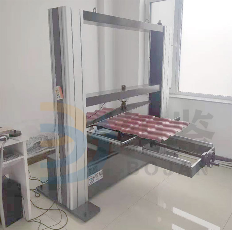 微机控制纸面石膏板抗压抗折试验机重庆客户订购
